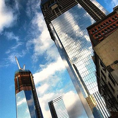 Skylines Photograph - Wtc Never Forget Never Surrender - New by Joel Lopez