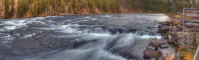 Yellowstone Wall Art - Photograph - Yellowstone River Rapids by Twenty Two North Photography