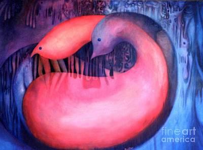 Painting - Yin Yang by Lynn Buettner