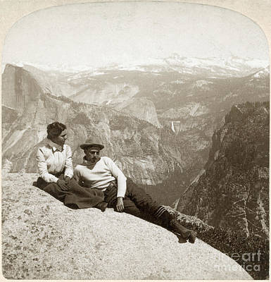 Photograph - Yosemite Valley, C1902 by Granger