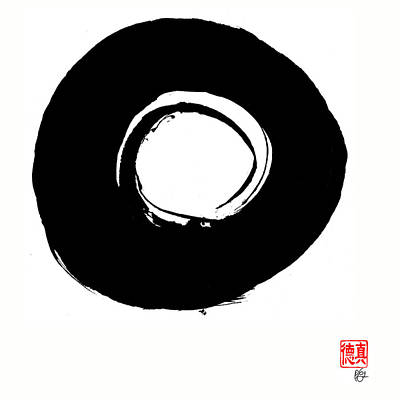 Zen Circle Six Art Print