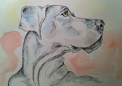 Painting - Zoe by Stephanie Reid