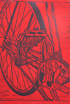 Bike 3 Art Print by William Cauthern