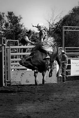 Cowboys Photograph - Bull Rider by Rick Rowland