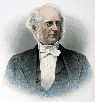 Cornelius Vanderbilt Print by Granger