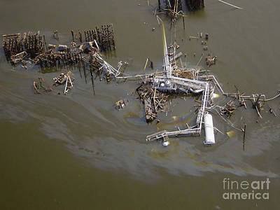 Hurricane Katrina Damage Art Print by Science Source