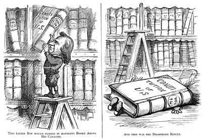 Johnson Impeachment Trial Art Print by Granger
