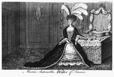 Marie Antoinette (1755-1793) Art Print