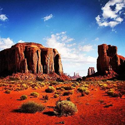 Rock Wall Art - Photograph - Monument Valley by Luisa Azzolini