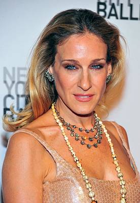 Sarah Jessica Parker At Arrivals Art Print