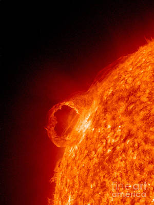 Solar Prominence Art Print by Science Source