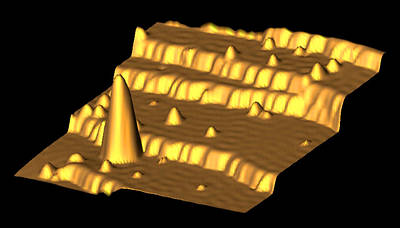 Mechanical Interaction Photograph - Spintronics Research, Stm by Drs A. Yazdani & D.j. Hornbaker