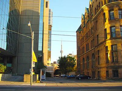 Photograph - 10 Years Ago Toronto-1 by Rezzan Erguvan-Onal