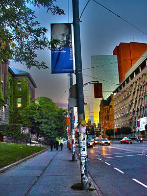 Photograph - 10 Years Ago Toronto-12 by Rezzan Erguvan-Onal