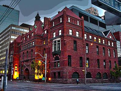 Photograph - 10 Years Ago Toronto-16 by Rezzan Erguvan-Onal