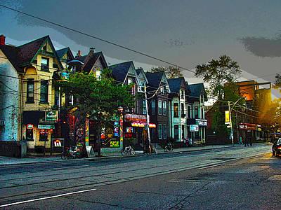 Photograph - 10 Years Ago Toronto-2 by Rezzan Erguvan-Onal