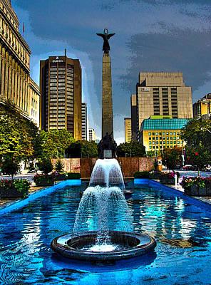 Photograph - 10 Years Ago Toronto-21 by Rezzan Erguvan-Onal