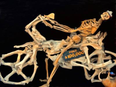 Crocodile Painting - 100000 Dollar Chopper by Michael Pickett