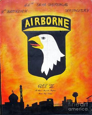 101st Airborne Division Photograph - 101st Airborne - Oif IIi by Unknown