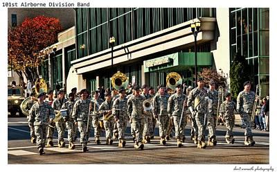 101st Airborne Division Band Art Print