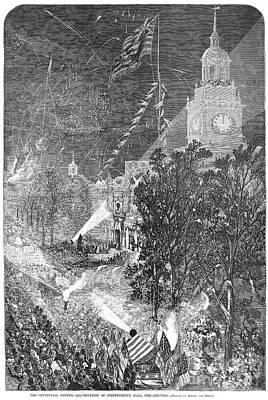 Centennial Fair, 1876 Art Print by Granger