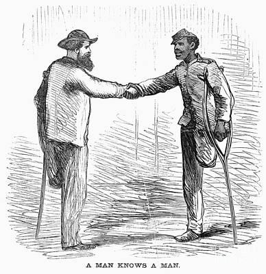 Civil War: Black Troops Art Print by Granger