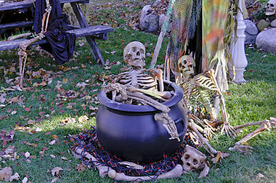 Hay Photograph - Fall  Halloween On Tillson Street by LeeAnn McLaneGoetz McLaneGoetzStudioLLCcom