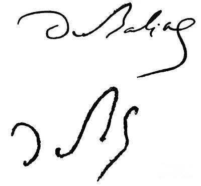 Balzac Photograph - Honore De Balzac (1799-1850) by Granger