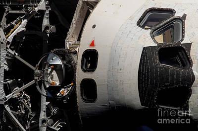 Space Shuttle Atlantis Art Print by Stocktrek Images