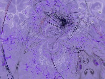 Purple Grapes Digital Art - 1123 Lavender And Grapes by Scott Bishop