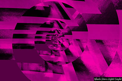 Twirling Art Print by Mihaela Stancu