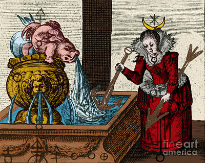 Photograph - Alchemy Illustration by Science Source