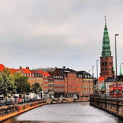 Cityscape Photograph - Copenhagen by Luisa Azzolini