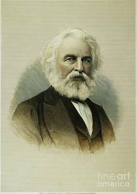 Henry Wadsworth Longfellow Art Print by Granger