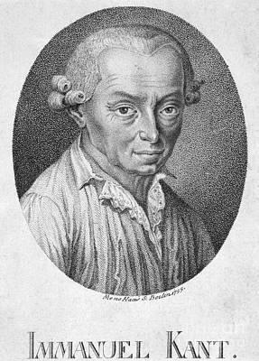 Immanuel Kant (1724-1804) Art Print by Granger