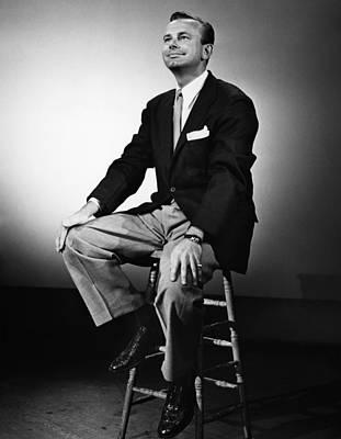 Jack Paar 1918-2004, American Art Print by Everett