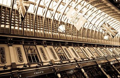 Leadenhall Market London Art Print by David Pyatt