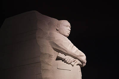 Photograph - Martin Luther King Jr Memorial by Theodore Jones