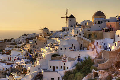 Mills Photograph - Oia - Santorini by Joana Kruse