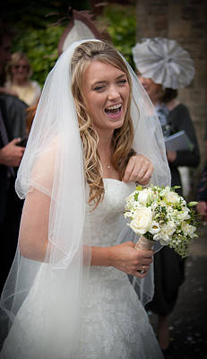 Photograph - Tim And Finn Wedding 2012 by Chris Boulton