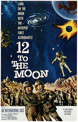 12 To The Moon, 1960 Art Print by Everett
