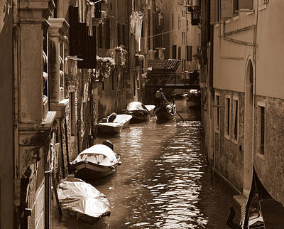 Venice Art Print by Barbara Walsh