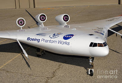 Blend Photograph - X-48b Blended Wing Body by Nasa