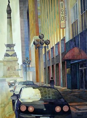 120 E Market Art Print by Ryan Petrow