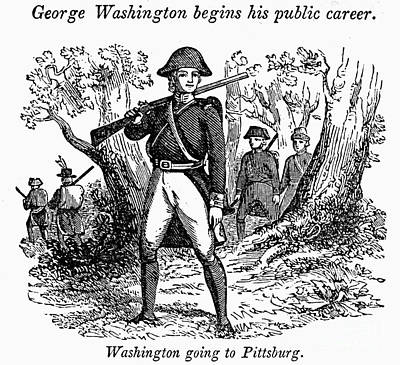 Colonial Man Photograph - George Washington by Granger
