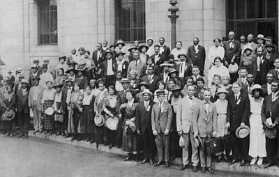 12th Annual Conference Of The Naacp Print by Everett