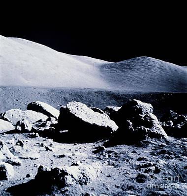Apollo Mission 17 Art Print by Nasa
