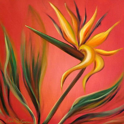 Painting - Bird Of Paradise by Gina De Gorna
