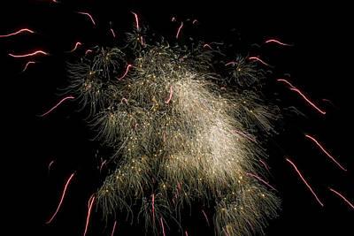 Brilliant Fireworks Photograph - Fireworks by Patrick M Lynch