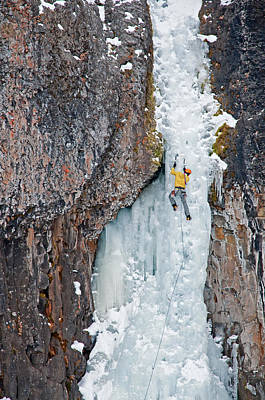 Valentines Day - Ice Climber by Elijah Weber